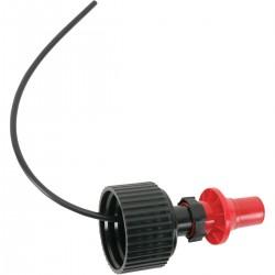 TUFF JUG SPILL PROOF SPOUT BLACK/RED MULTI