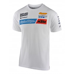 TLD KTM TEAM TEE WHITE