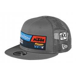 TLD KTM TEAM SNAPBACK HAT GRAY