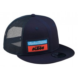 TLD KTM TEAM STOCK SNAPBACK  HAT NAVY