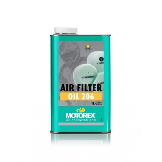 MOTOREX 206 AIRFILTER OIL 1 LTR.