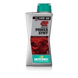 MOTOREX POWERSYNT 4T 10W60 1 LTR.  (JASO MA 2)