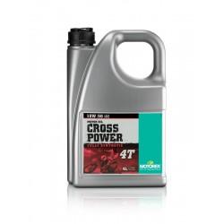 MOTOREX CROSS POWER 4T 10W50 4 LTR.  (JASO MA 2)