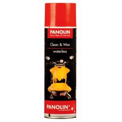 PANOLIN CLEAN & WAX SPRAY (WATERLESS)  500 ML.
