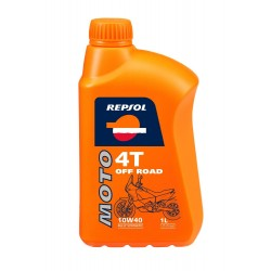 REPSOL MOTO OFF ROAD 4T 1 LTR. 10W40 4-STROKE OIL