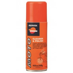 REPSOL 400 ML. MOTO CLEANER & POLISH