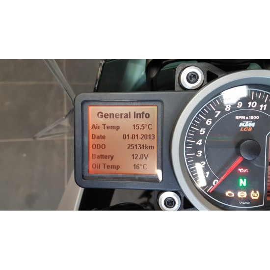 KTM  SUPERDUKE GT ORANGE 1290 (2017)
