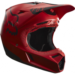 FOX HELMET V3 RED/BLACK