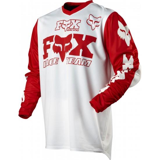FOX JERSEY 2011 RED/WHITE XXL DAYTONA, SIZE XXL