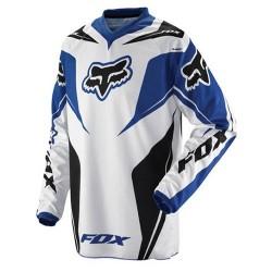FOX HC RACE JERSEY BLUE, SIZE XXL