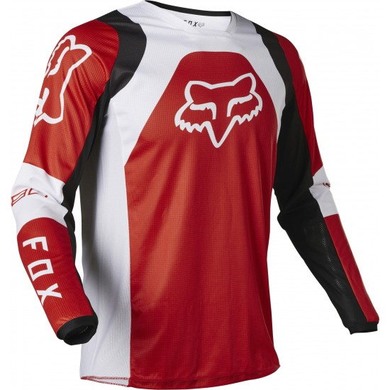 FOX 180 LUX JERSEY [FLO RED]