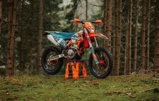 KTM INTRODUCEERT DE SPECIAAL ONTWIKKELDE KTM 350 EXC-F WESS